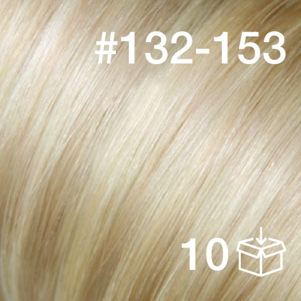 """Tape-Extension #132-153 """"White Cocoa / Sunkissed Ivory"""""""