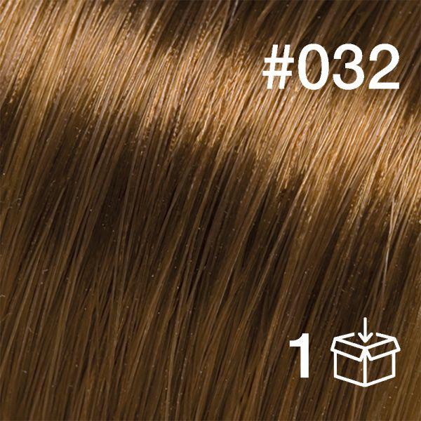 "Probesträhne #032 ""Golden Walnut"""