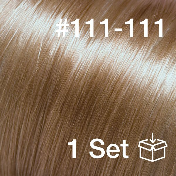 "Clip-In Extensions Set #111-111 ""Savanna"""