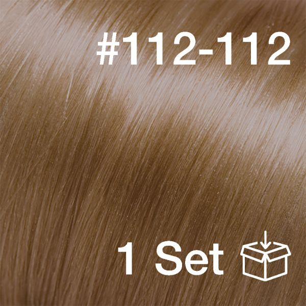 "Clip-In Extensions Set #112-112 ""Cashew"""