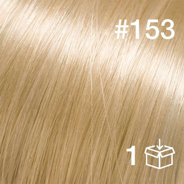 "Probesträhne #153 ""Sunkissed Ivory"""