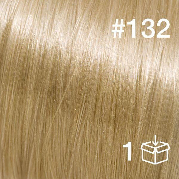 """Probesträhne #132 """"White Cocoa"""""""