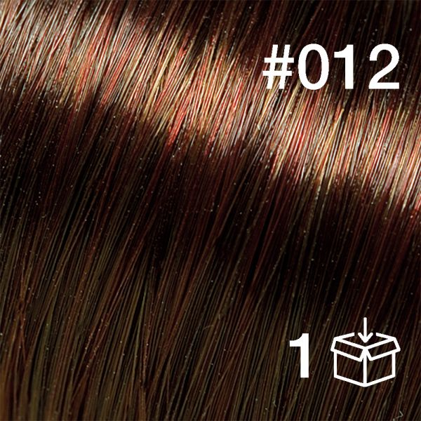 """Probesträhne #012 """"Chestnut"""""""