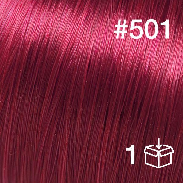 """Probesträhne #501 """"Very Cherry"""""""