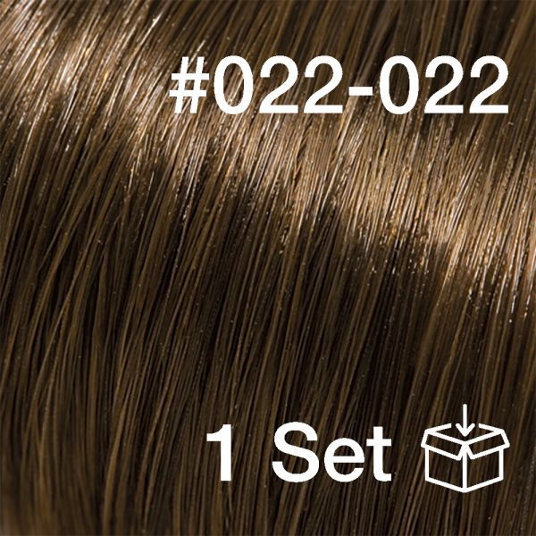 """Clip-In Extensions Set #022-022 """"Summer Truffle"""""""