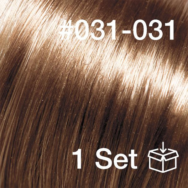 """Clip-In Extensions Set #031-031 """"Toffee"""""""