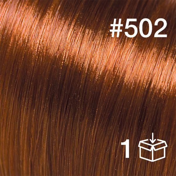 """Probesträhne #502 """"Foxy Red"""""""